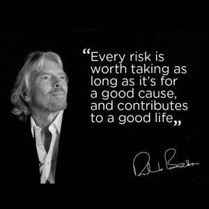risk quote, branson